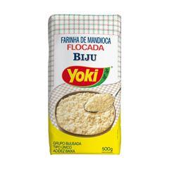 Farinha De Mandioca Yoki Flocada Biju 500g