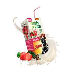 Bebida De Soja Yoki Mais Vita Morango 200ml
