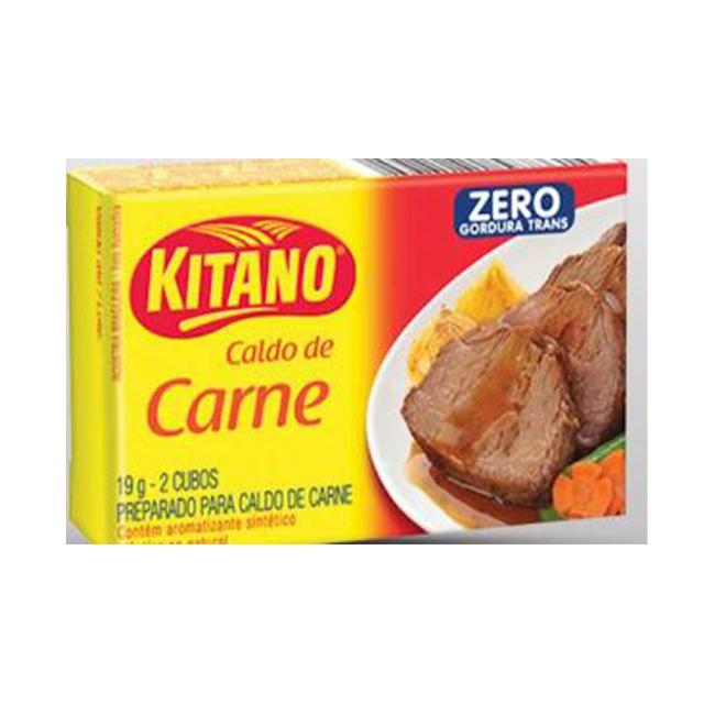 Caldo Kitano Carne 24x19g