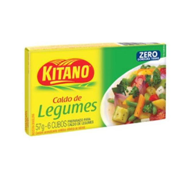 Caldo Kitano Legumes 10x57g