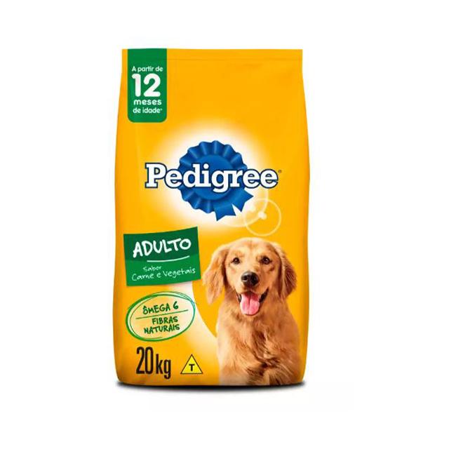 Ração para Cães Pedigree Vital Pro Carne e Vegetais 20kg