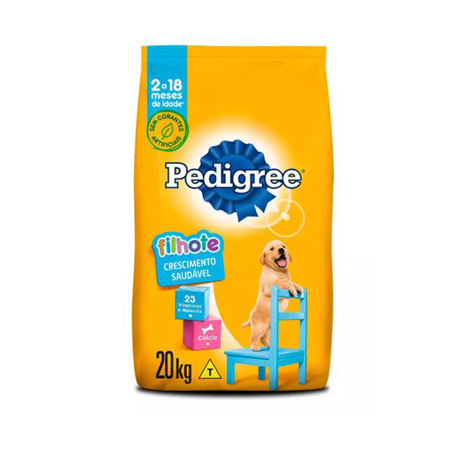 Ração para Cães Pedigree Vital Pro Filhotes Raças Médias e Grandes 20kg
