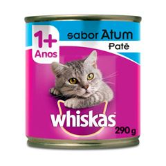 Ração Úmida Para Gatos Whiskas Atum Lata 290g