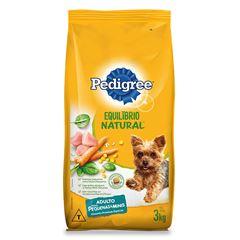 Ração Para Cães Pedigree Equilíbrio Natural Raças Pequenas 3kg