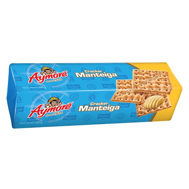 Biscoito Cream Cracker Aymoré Manteiga 200g