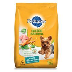 Ração Para Cães Pedigree Equilíbrio Natural Raças Pequenas 15kg