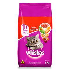 Ração Para Gatos Whiskas Carne 3kg