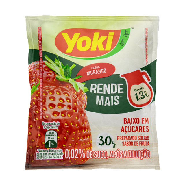 Refresco Yoki Morango 15x30g