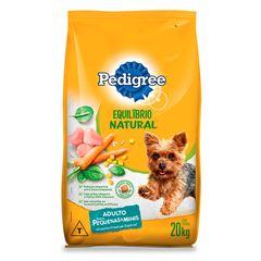 Ração Para Cães Pedigree Equilíbrio Natural Raças Pequenas 20kg
