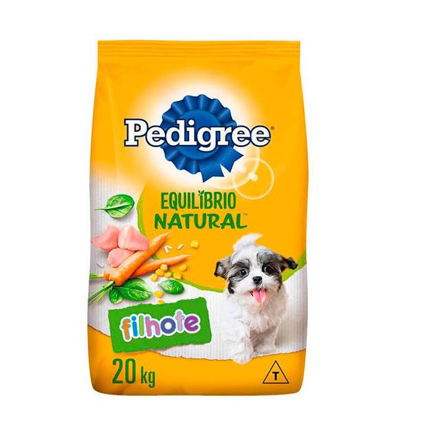 Ração para Cães Pedigree Equilíbrio Natural Filhotes 20kg