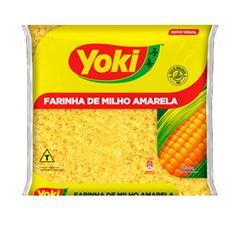 Farinha De Milho Yoki Amarela 500g