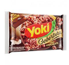 Pipoca Para Micro-Ondas Yoki Cobertura Chocolate 160g