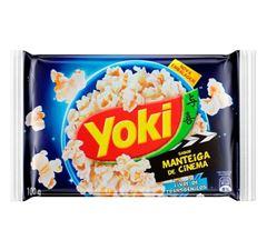 Pipoca Para Micro-Ondas Yoki Manteiga De Cinema 100g
