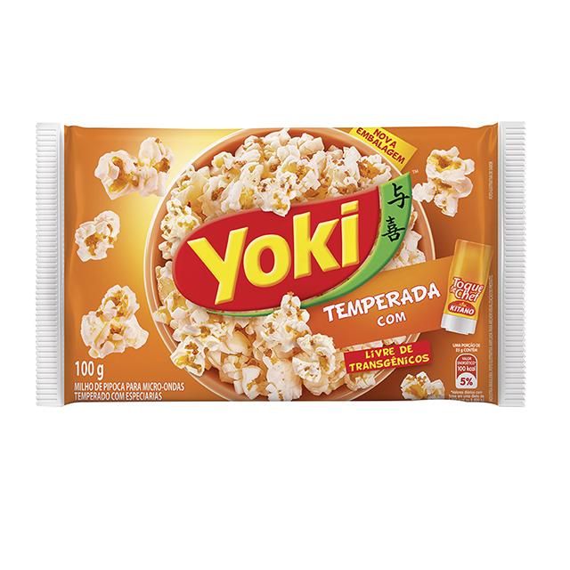 Pipoca para Micro-Ondas Yoki Toque de Chef 100g