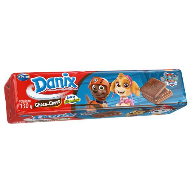 Biscoito Recheado Arcor Danix Choco Choco 130g
