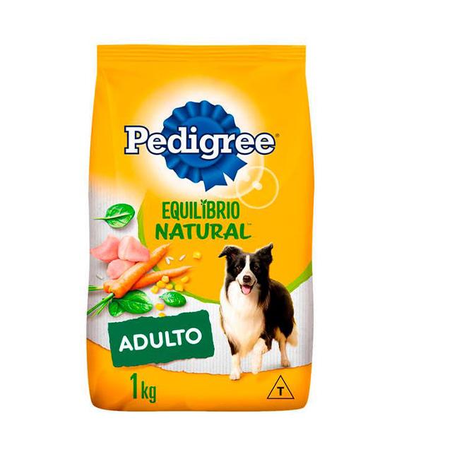 Ração para Cães Pedigree Equilíbrio Natural Raças Médias e Grandes 1kg