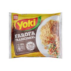 Farofa Yoki Tradicional 500g