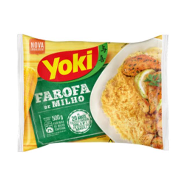 Farofa Yoki de Milho 500g