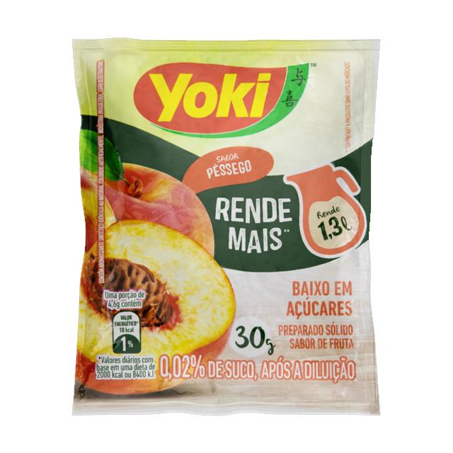 Refresco Yoki Pêssego 15x30g