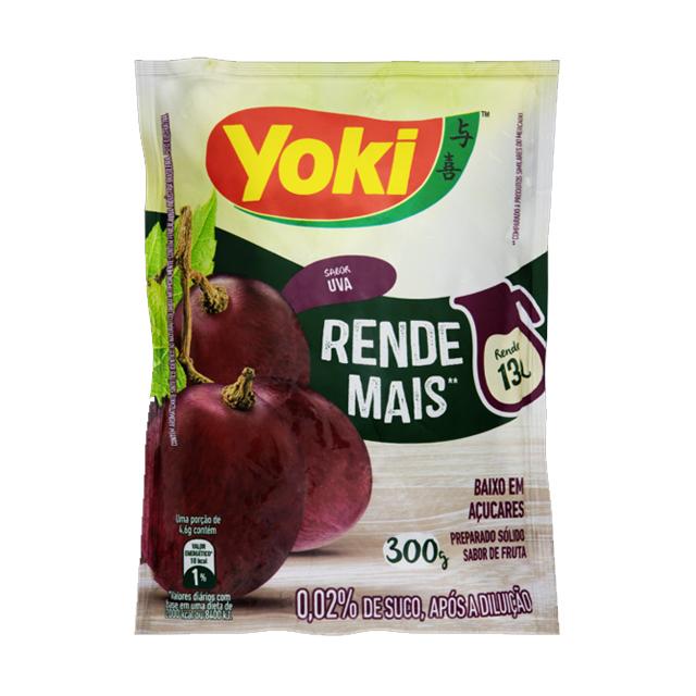 Refresco Yoki Uva 15x30g