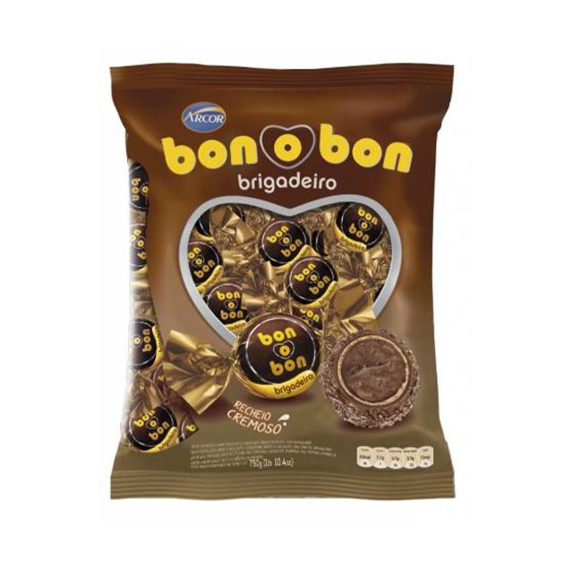 Bombom Arcor Bon O Bon Brigadeiro 750g