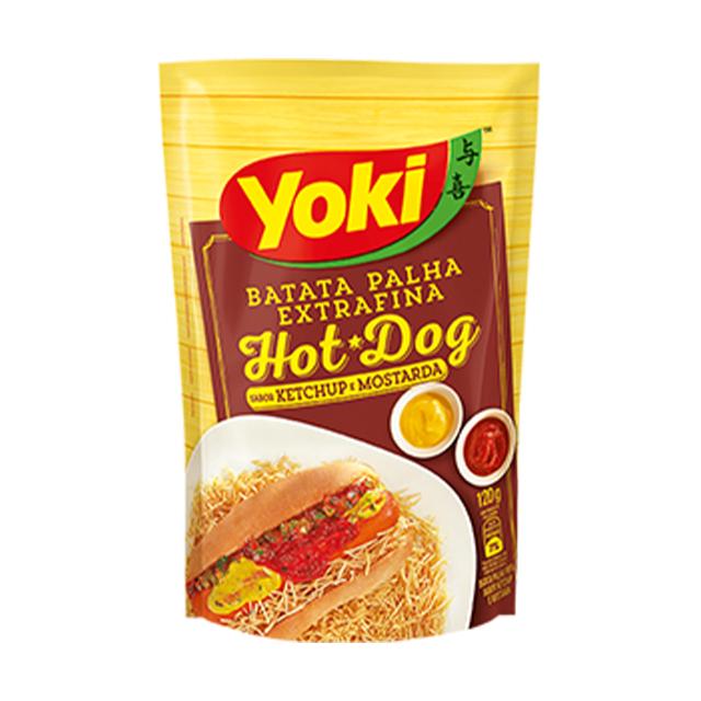 Batata Palha Yoki Extra Fina Hot Dog 120g