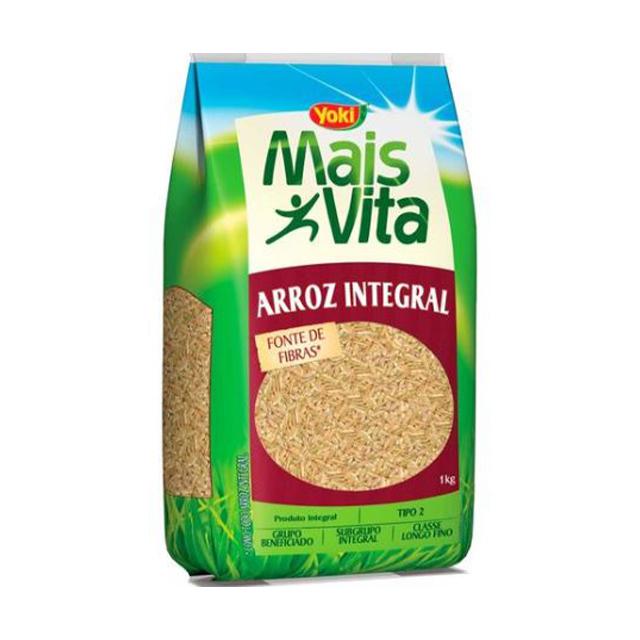 Arroz Integral Yoki Mais Vita 1kg