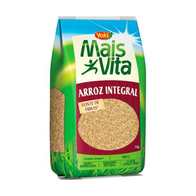 Arroz Integral Yoki Mais Vita 1kg