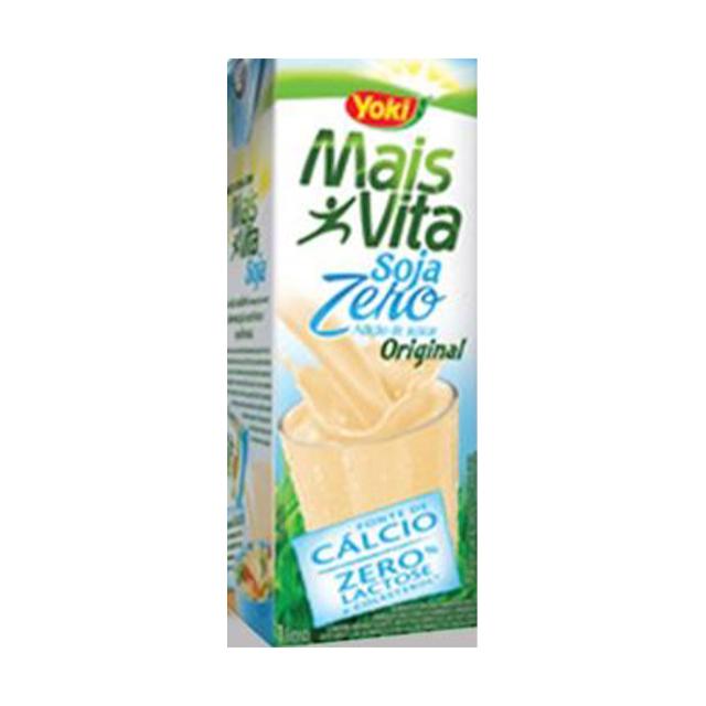 Bebida de Soja Yoki Mais Vita Original Zero 1L