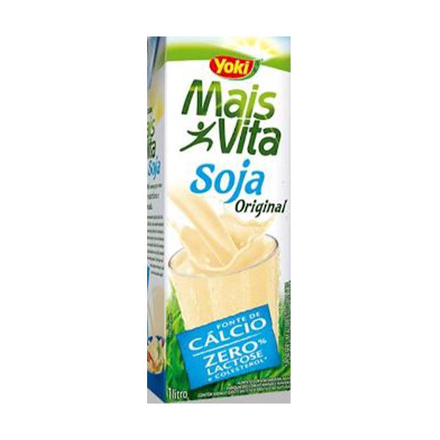 Bebida de Soja Yoki Mais Vita Original 1L