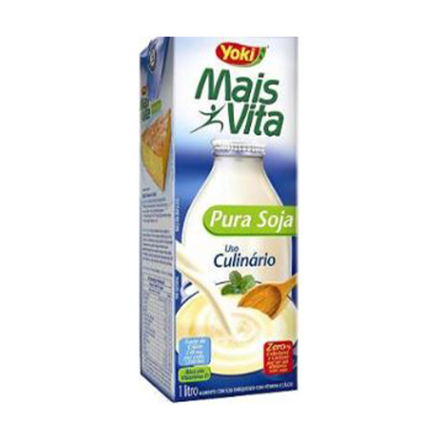 Bebida de Soja Yoki Mais Vita Pura Soja 1L