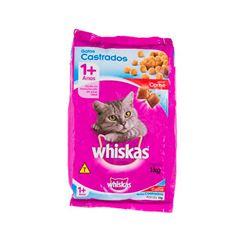 Ração Para Gatos Whiskas Castrados Carne 1kg