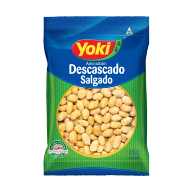 Amendoim Yoki Descascado e Salgado 150g