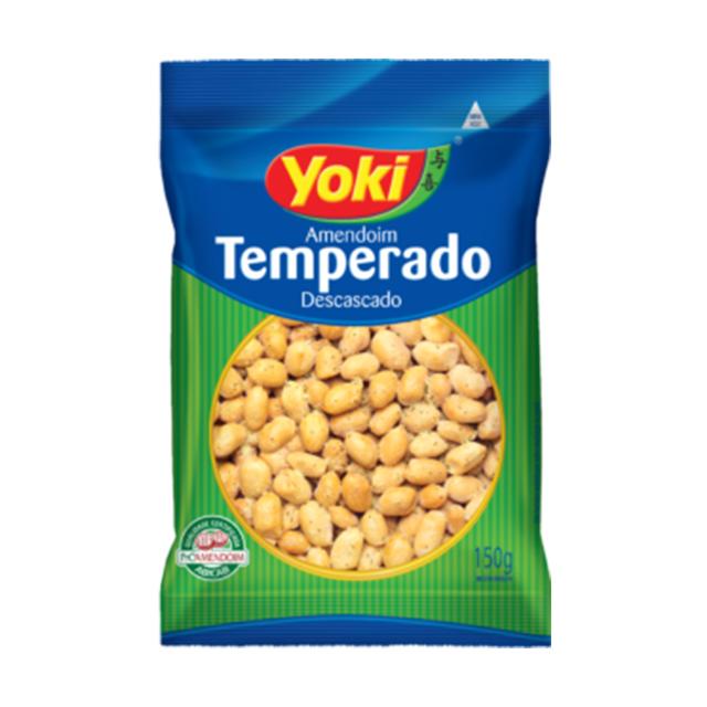 Amendoim Yoki Descascado e Temperado 150g