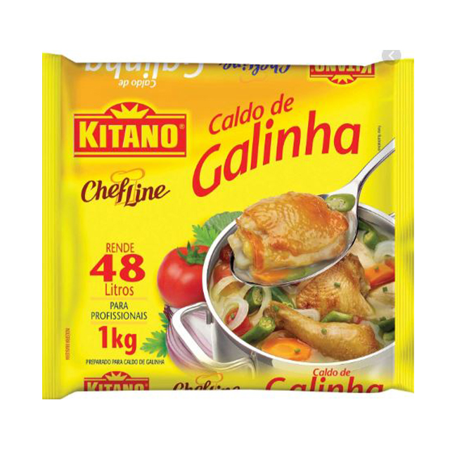 Caldo Kitano Chef Line Galinha 1kg