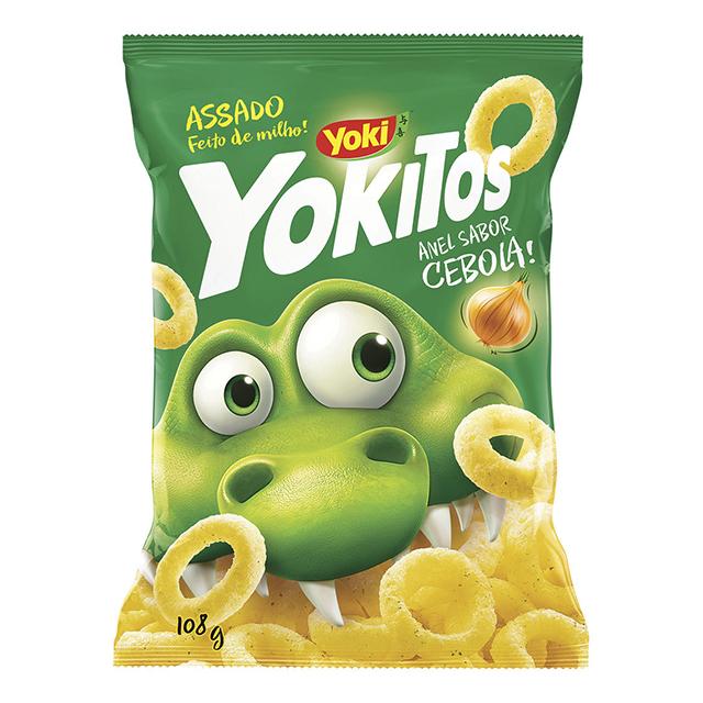 Salgadinho Yoki Yokitos Anéis de Cebola 108g