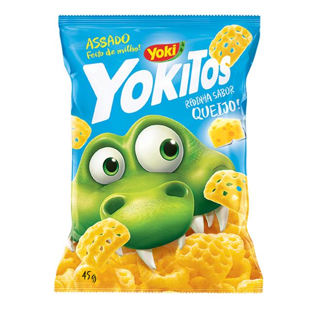 Salgadinho Yoki Yokitos Redinha de Queijo 45g