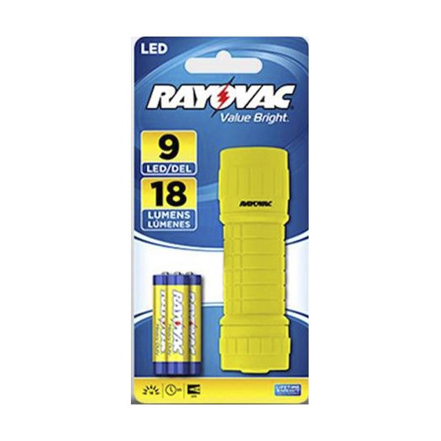 Lanterna Rayovac Value Bright 9 Leds
