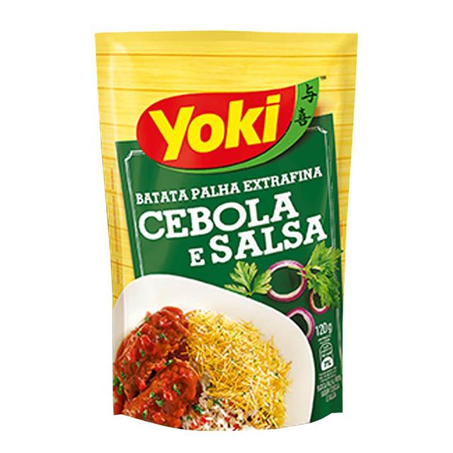 Batata Palha Yoki Extra Fina Cebola e Salsa 120g