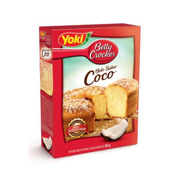 Mistura para Bolo Yoki Coco 425g