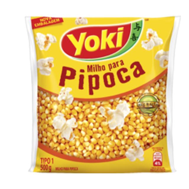 Milho para Pipoca Yoki 500g