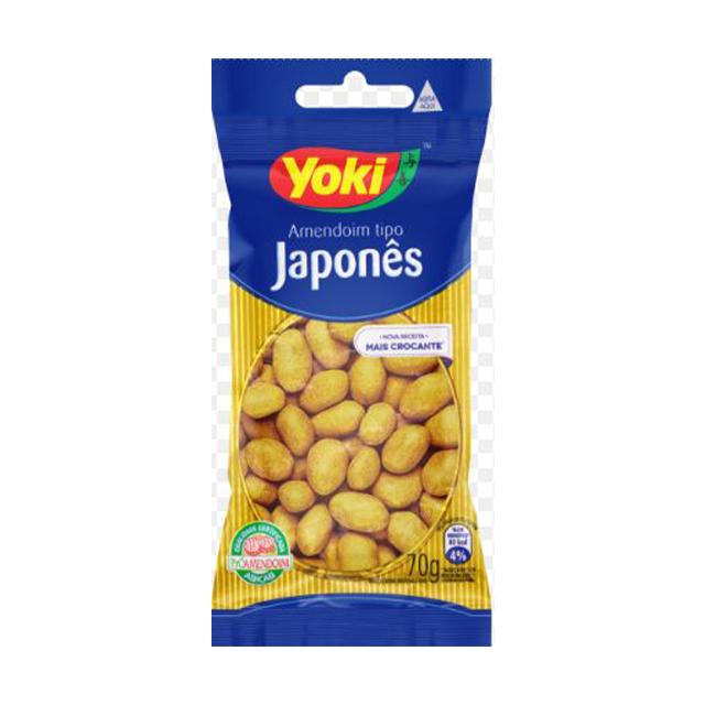 Amendoim Yoki Tipo Japonês 70g
