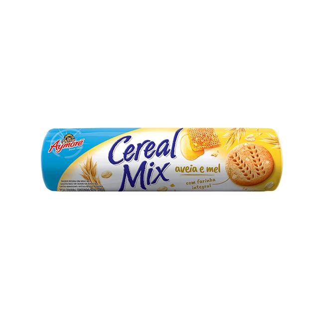 Biscoito Integral Aymoré Cereal Mix Aveia e Mel 200g