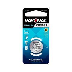 Pilha Rayovac Lithium Cr2025