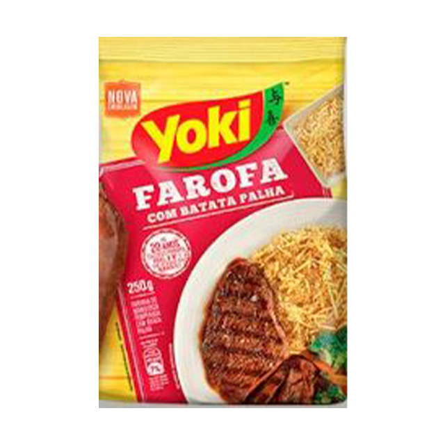 Farofa Yoki com Batata Palha 200g