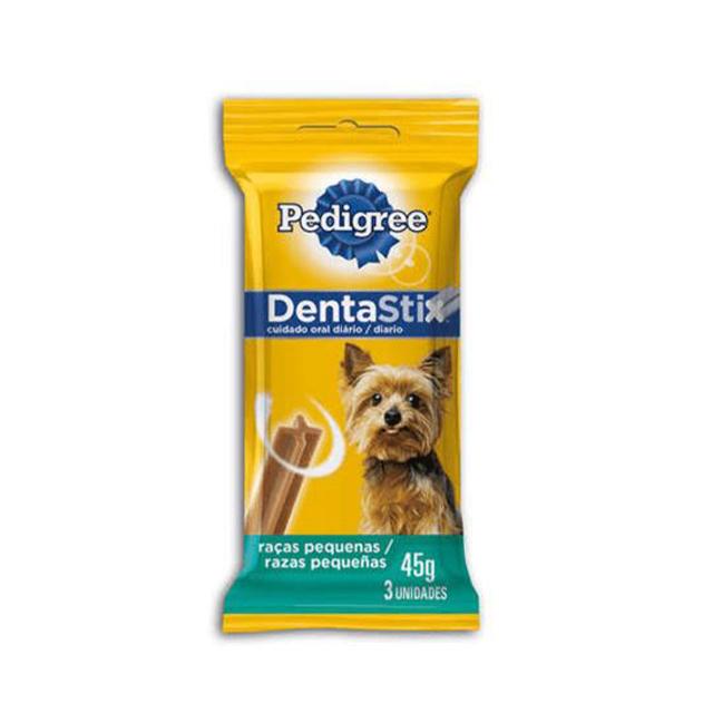 Petisco Para Cães Pedigree Dentastix Raças Pequenas Stick 77g | Com 3 Unidades