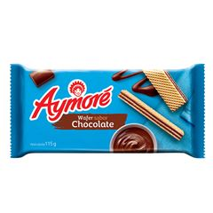 Biscoito Wafer Aymoré Chocolate 115g