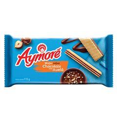 Biscoito Wafer Aymoré Chocolate Com Avelã 115g