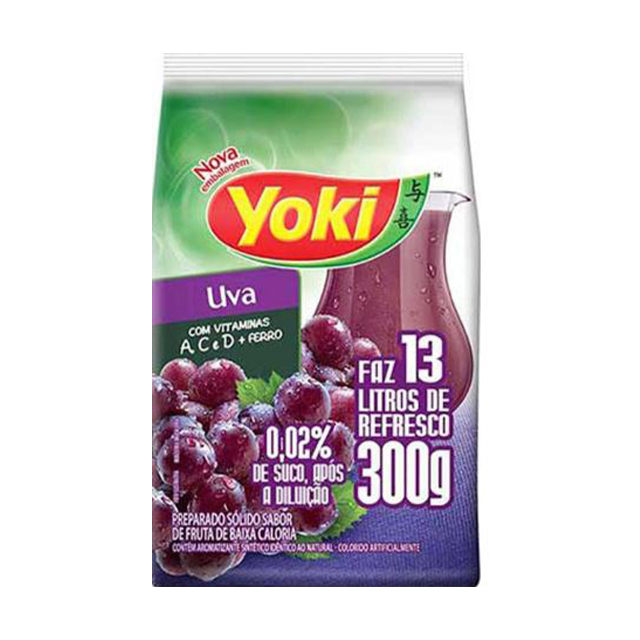 Refresco Yoki Chef Line Uva 300g