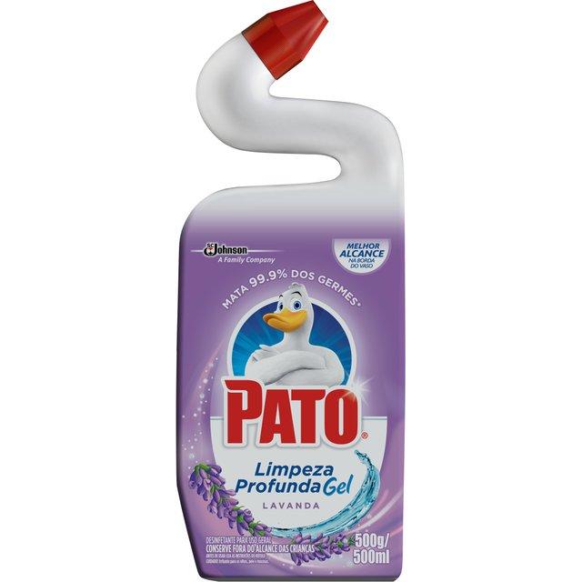 Limpador Sanitário Pato Lavanda 500 ml